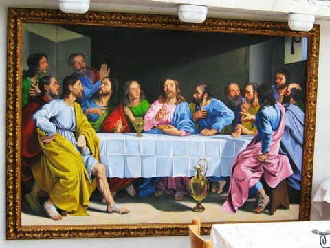 Copy of'The Last Supper' by Champagne