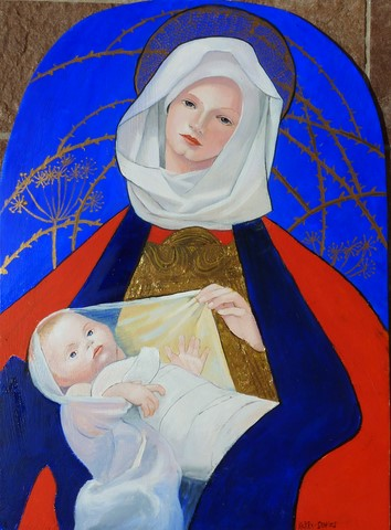Copy of Madonna & Child (in the lane)